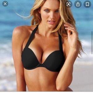 Victoria's Secret black bombshell bikini top 36b